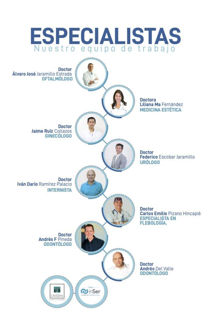 Especialistas salud sin fronteras