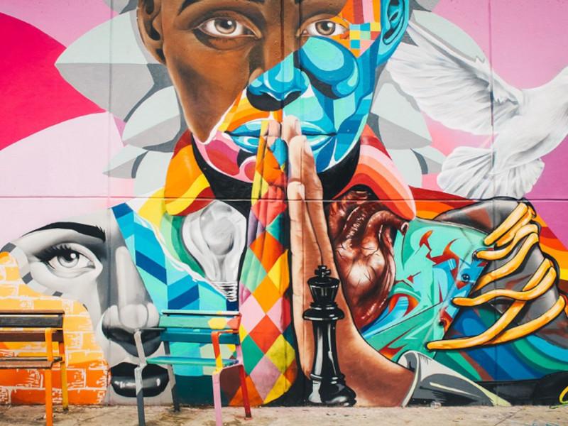Salud sin Fronteras Graffitour 1